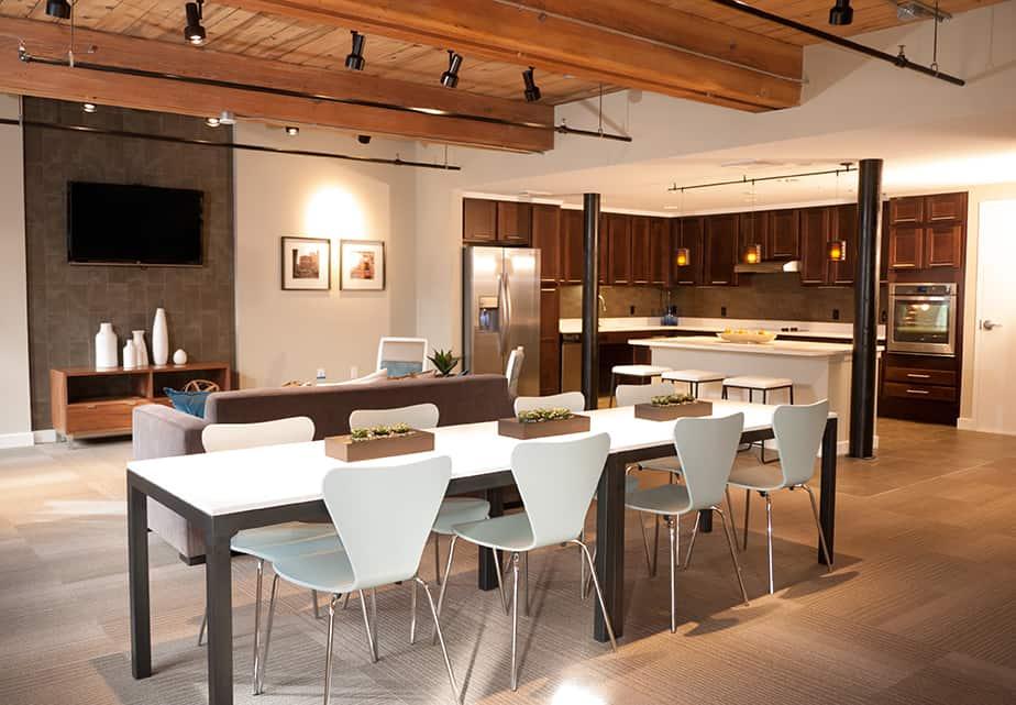 LoftFive 50 community kitchen cabinets and countertops