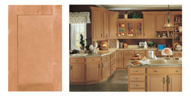 Norfolk Tuscany Cabinet with Toffee Finish