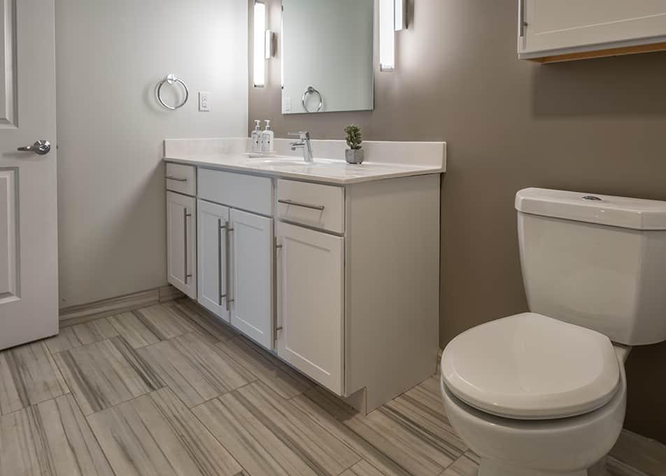 Island Creek Bathroom Cabinets
