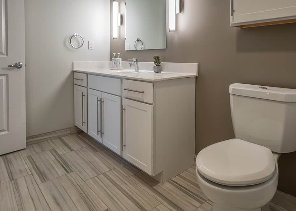 Island Creek Bathroom Cabinets