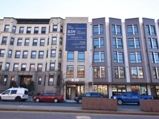 exterior of 839 Beacon apartment building in Boston, MA