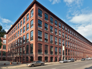 street view of Market Mill apartment building in Lowell, MA