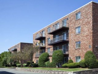 exterior of Northgate Apartments in Revere, MA
